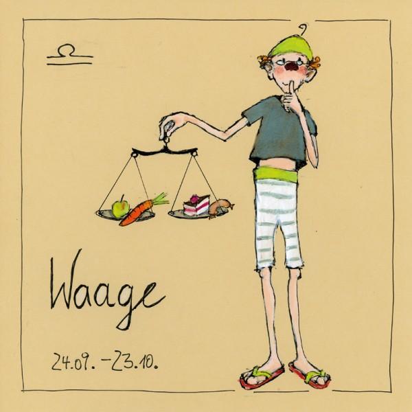 """Bild """"Waage"""" - Freundlieb"""
