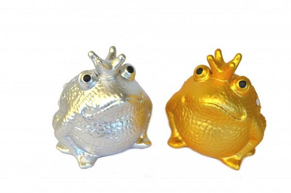 Frosch Freddy silberne & goldene Edition
