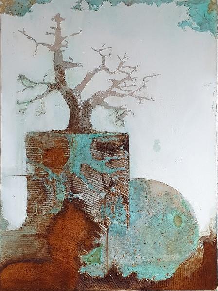 """Bild """"Baum silber, Reuter"""" by SABODesign"""