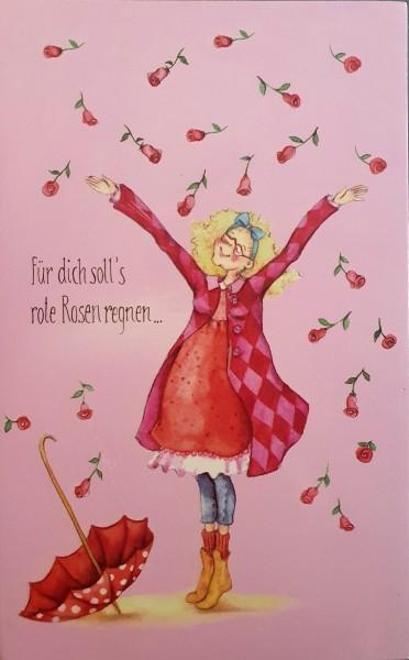 """Holzbilder Yvonne Hoppe-Engbring """"Powerfrauen"""" - für dich soll's rote Rosen regnen"""