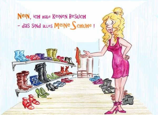 "Holzbilder von Sonja Knyssok - ""Schuhe"""