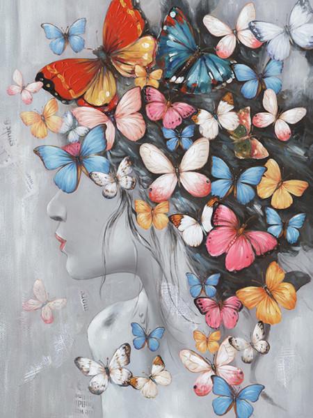 "Bild ""Butterfly Girl I"" by SABODesign"