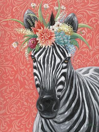 "Bild ""Zebra Girl"" by SABODesign"