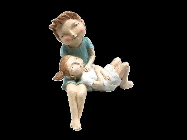 NEUHEIT - Kantenhockerpärchen Eva & Nick