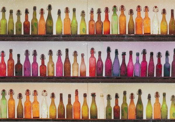 """Bild """"Flaschen"""" (rot) by SABODesign"""