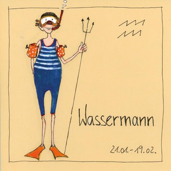 """Bild """"Wassermann"""" - Freundlieb"""
