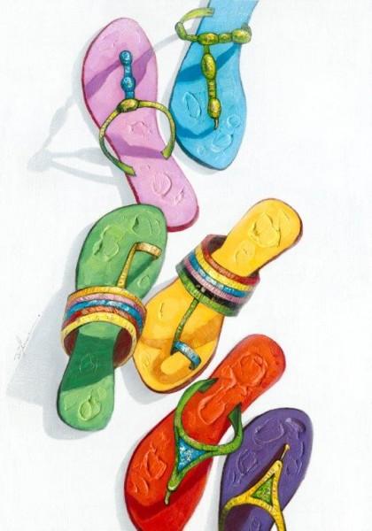 """Bild """"Flip Flops"""" by SABODesign"""