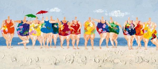 """Bild """"Frauen am Strand"""" by SABODesign"""