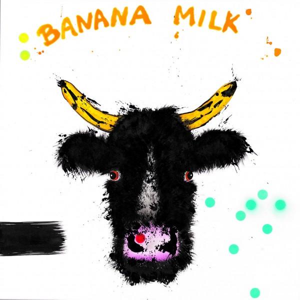 "Michael Ferner Kunstdruck ""Banana Milk"""