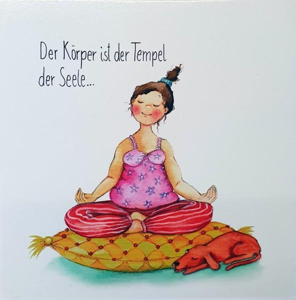 "Holzbilder Yvonne Hoppe-Engbring ""Powerfrauen"" - Tempel der Seele"