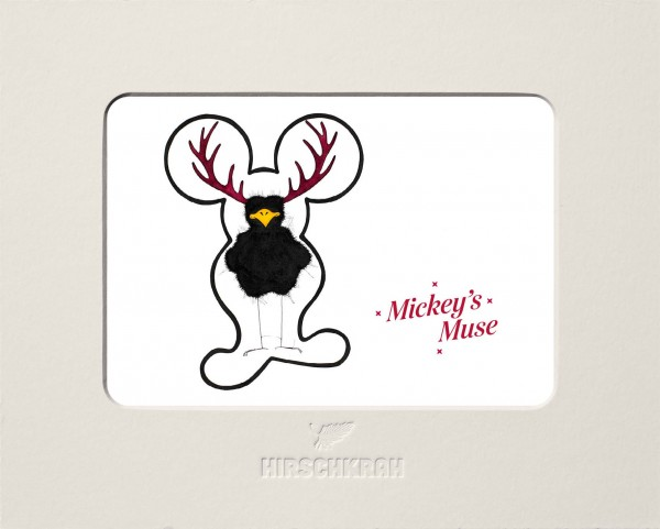 "Ferner Passepartout Hirschkrah ""Mickey's muse"""