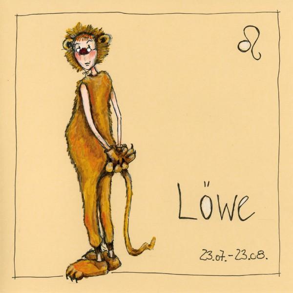 """Bild """"Löwe"""" - Freundlieb"""