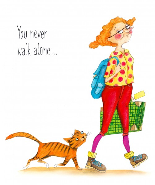 "Passepartout ""You never walk alone"""