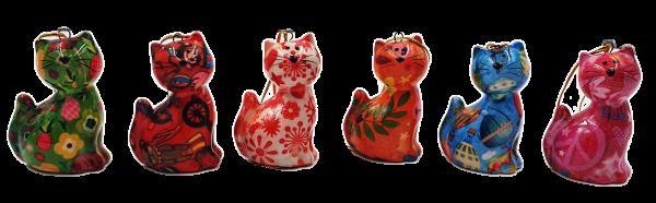 """Keramik Anhänger """"Katze Dorothy"""""""