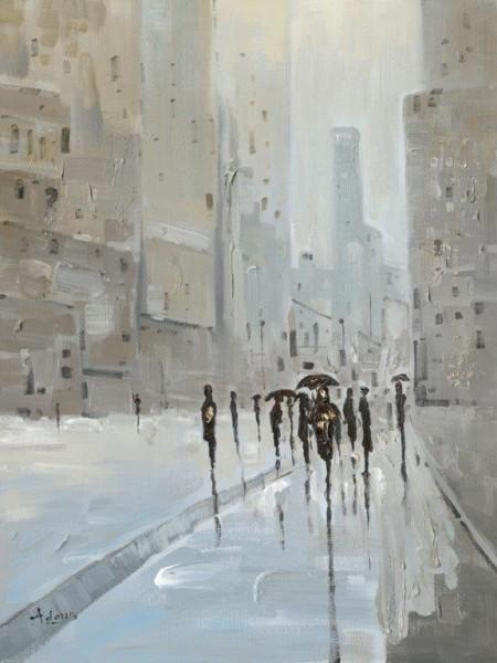 """Bild """"Straßenszene I"""" by SABODesign"""