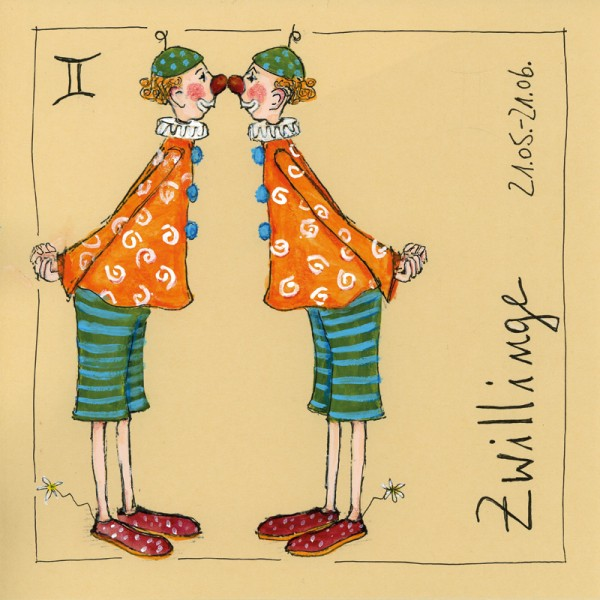 "Bild ""Zwillinge"" - Freundlieb"