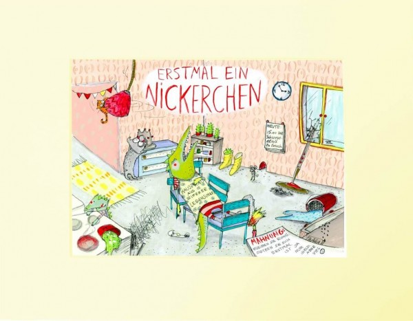 "Passepartout ""Nickerchen"""