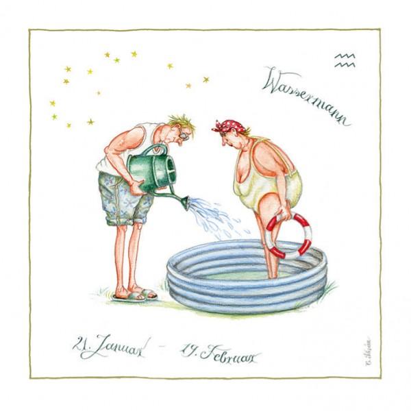 """Bild """"Wassermann"""" - Thrän"""