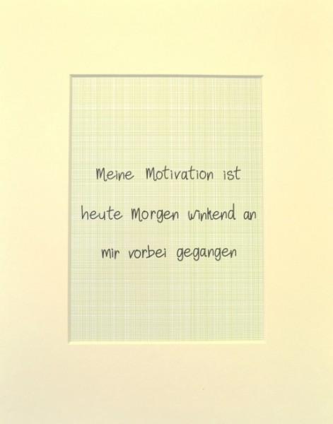 "Passepartout ""Motivation"""