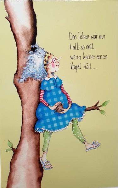 "Holzbilder Yvonne Hoppe-Engbring ""Powerfrauen"" - Das Leben wär nur halb so nett"