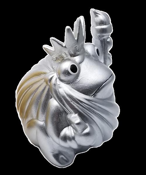 Spardose Frogmania Silver & Gold