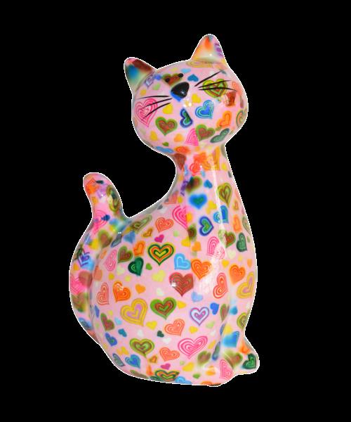 Spardose Katze Caramel