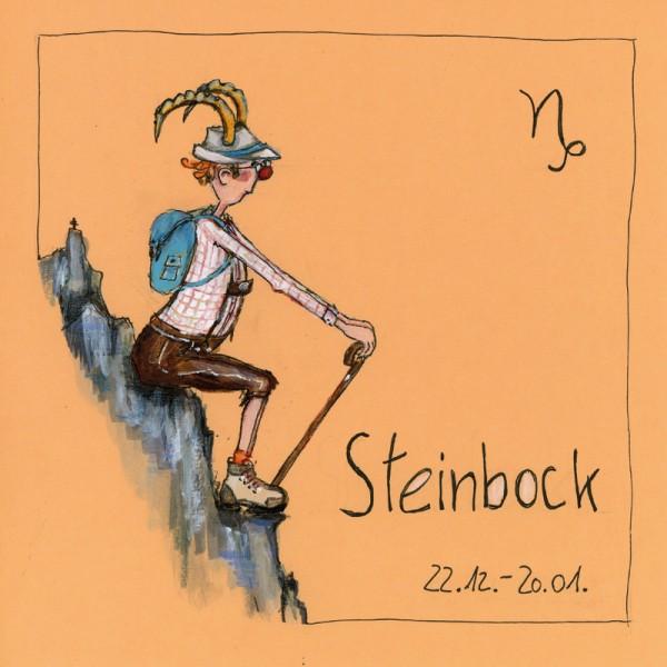 """Bild """"Steinbock"""" - Freundlieb"""