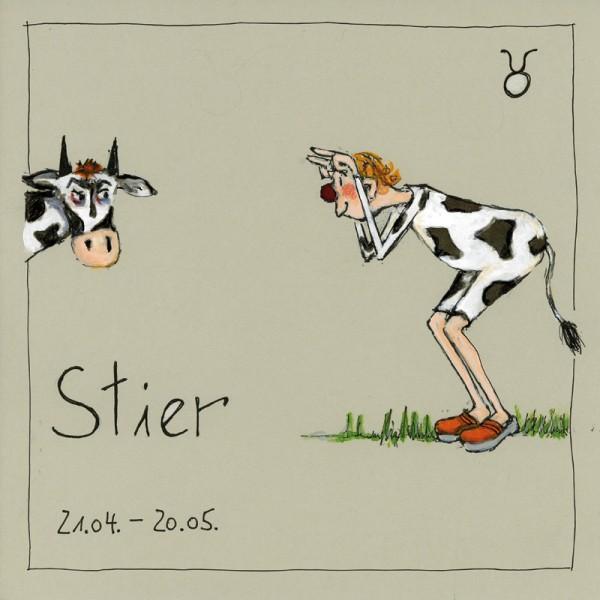 """Bild """"Stier"""" - Freundlieb"""