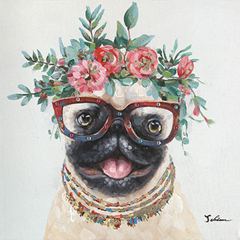 "Bild ""Blooming Dog"" by SABODesign"