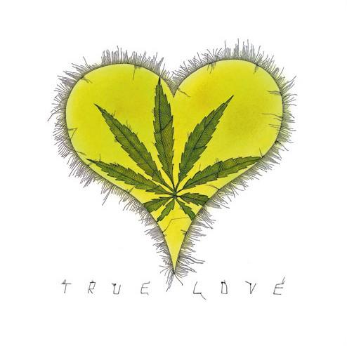 """Michael Ferner Kunstdruck """"True Love"""" limitiert und handsigniert"""