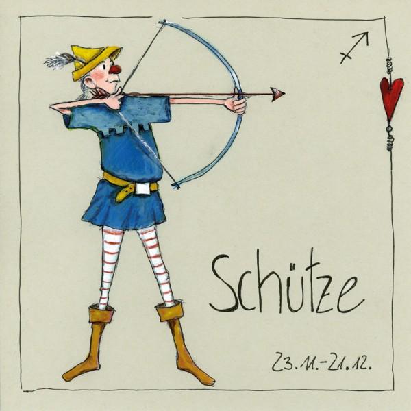 """Bild """"Schütze"""" - Freundlieb"""
