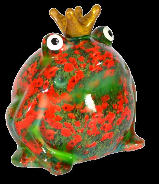 Spardose Frosch Wiesenserie