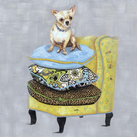 "Bild ""Chihuahua auf Sessel"" by SABODesign"