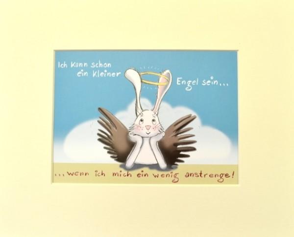 """Passepartout """"kleiner Engel"""""""
