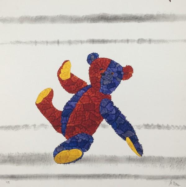 "Michael Ferner Kunstdruck ""Bär"" limitiert und handsigniert"