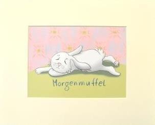 """Passepartout """"Morgenmuffel"""""""