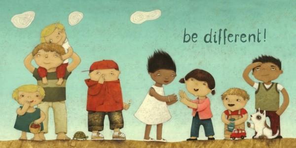 """Bild """"be different"""" by SABODesign"""
