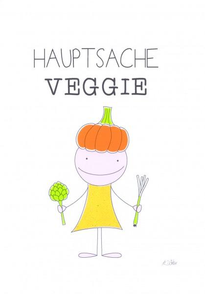 "Passepartout ""Hauptsache Veggie"""