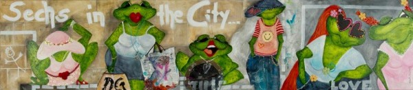 "Giclée Gabriele Meyer ""6 in the City"""
